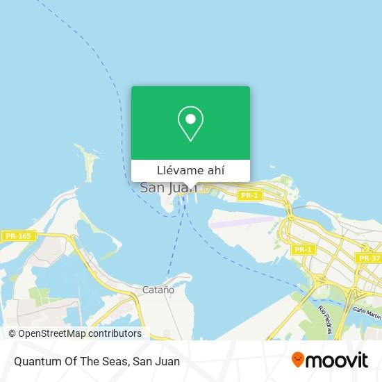 Mapa de Quantum Of The Seas