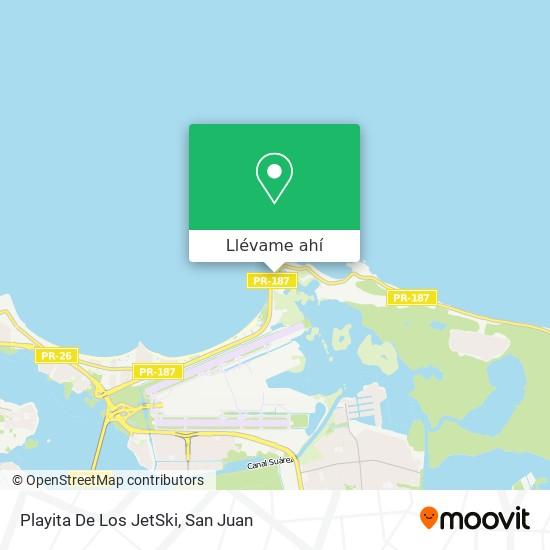 Mapa de Playita De Los JetSki