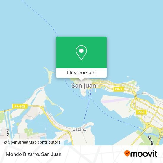 Mapa de Mondo Bizarro