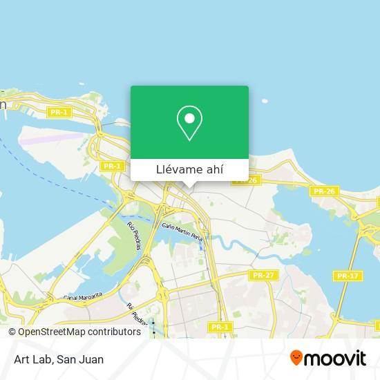 Mapa de Art Lab