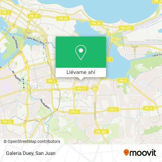 Mapa de Galeria Duey