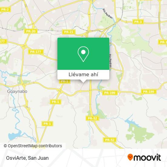 Mapa de OsviArte