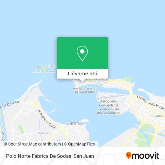 Mapa de Polo Norte Fabrica De Sodas