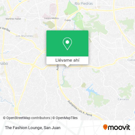 Mapa de The Fashion Lounge