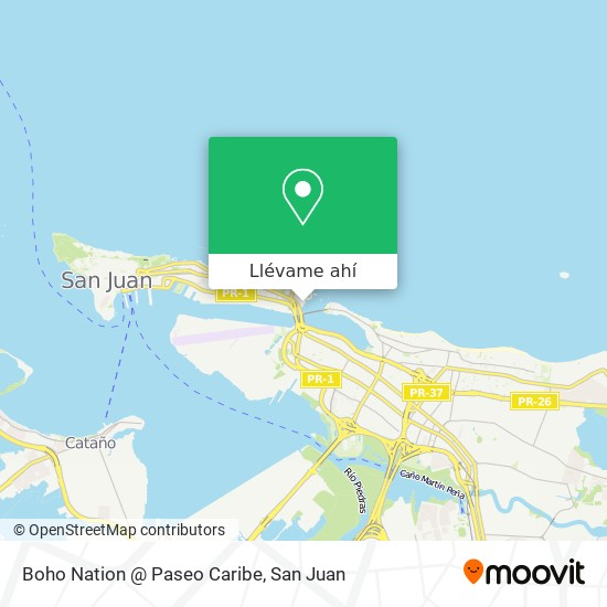 Mapa de Boho Nation @ Paseo Caribe