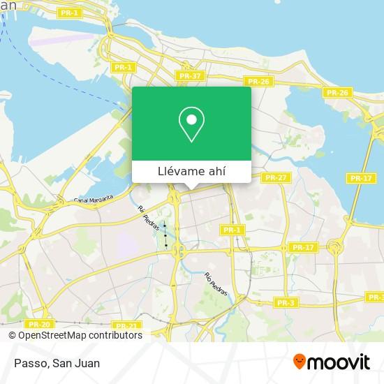 Mapa de Passo