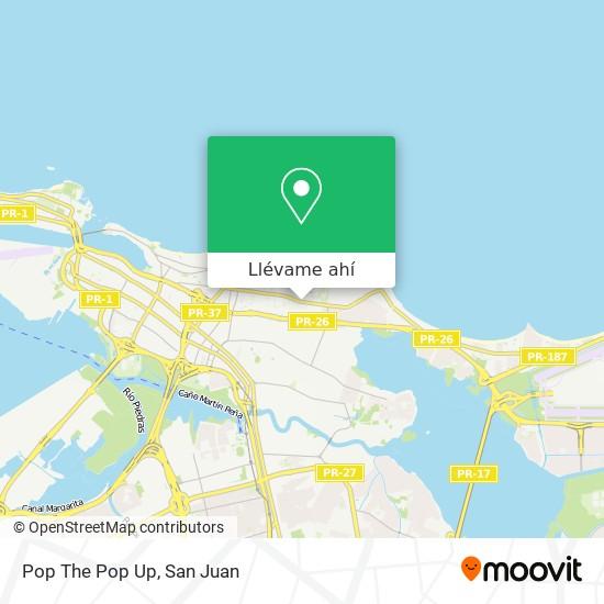 Mapa de Pop The Pop Up