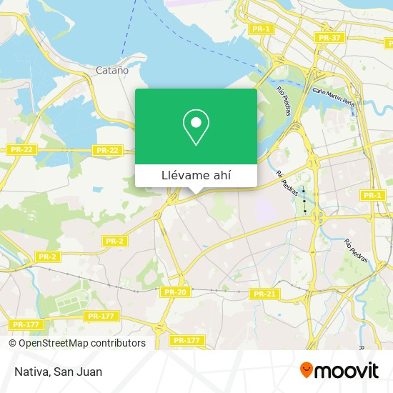 Mapa de Nativa