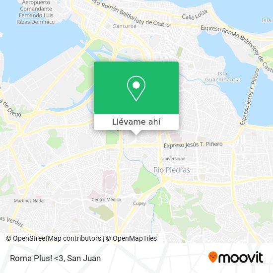 Mapa de Roma Plus! <3