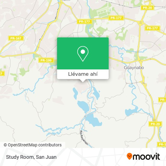 Mapa de Study Room