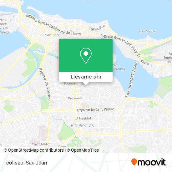 Mapa de coliseo