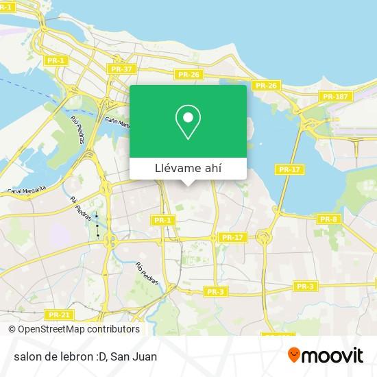 Mapa de salon de lebron :D