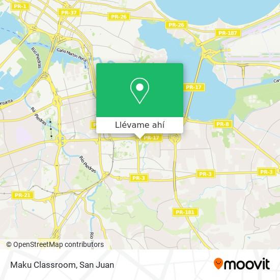 Mapa de Maku Classroom