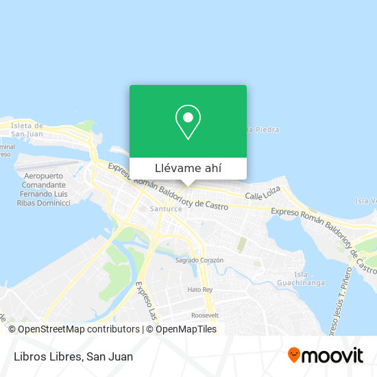 Mapa de Libros Libres