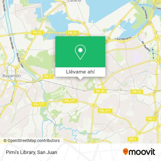 Mapa de Pimi's Library