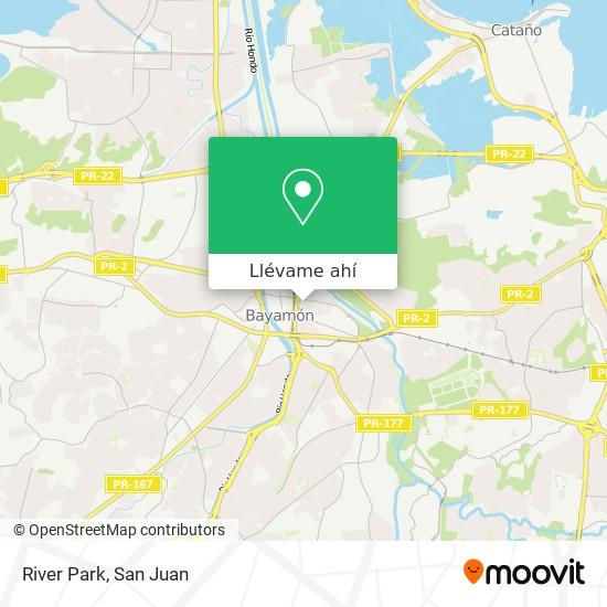 Mapa de River Park