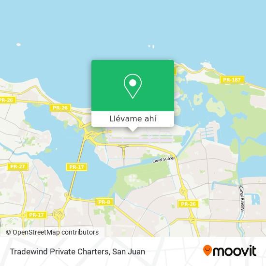 Mapa de Tradewind Private Charters