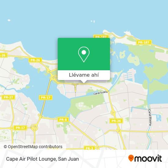 Mapa de Cape Air Pilot Lounge