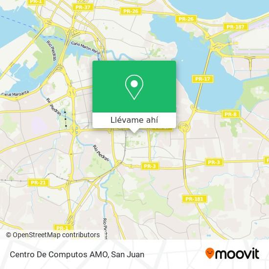 Mapa de Centro De Computos AMO