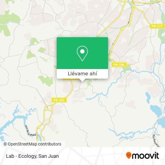 Mapa de Lab - Ecology