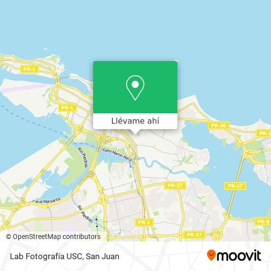 Mapa de Lab Fotografía USC