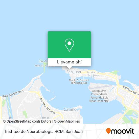 Mapa de Instituo de Neurobiología RCM