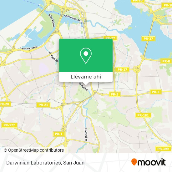 Mapa de Darwinian Laboratories