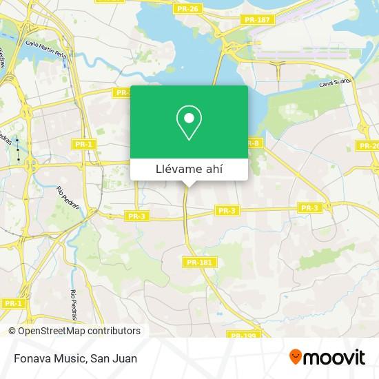 Mapa de Fonava Music
