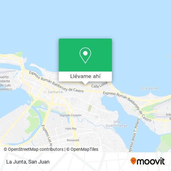 Mapa de La Junta