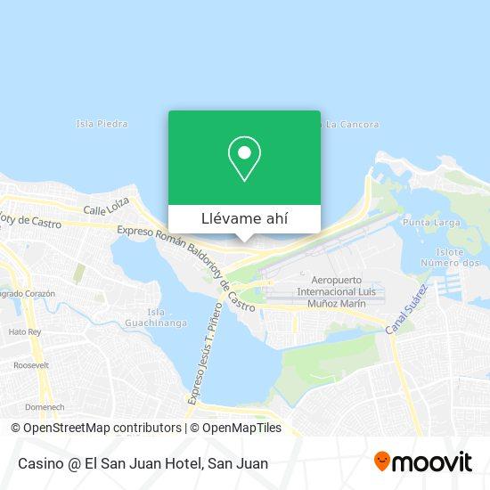 Mapa de Casino @ El San Juan Hotel