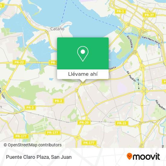 Mapa de Puente Claro Plaza
