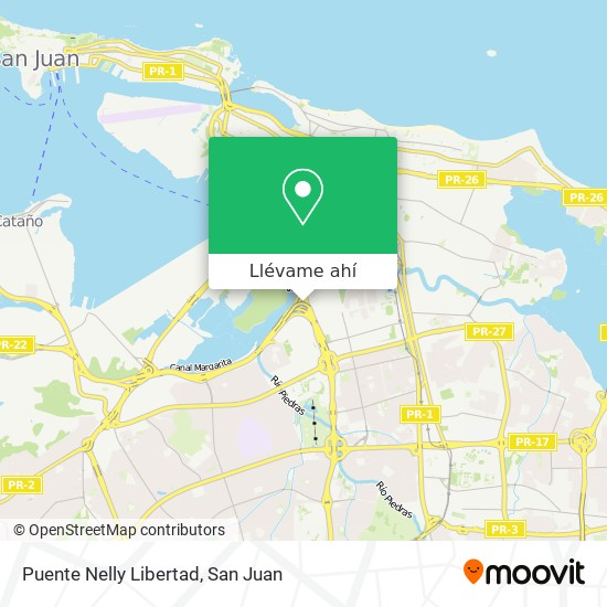 Mapa de Puente Nelly Libertad