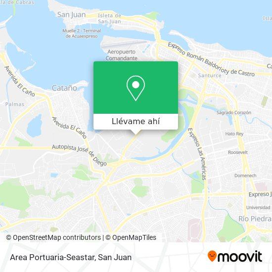 Mapa de Area Portuaria-Seastar