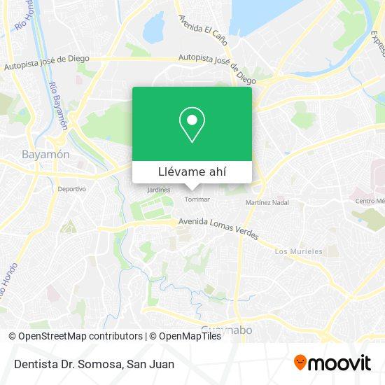 Mapa de Dentista Dr. Somosa
