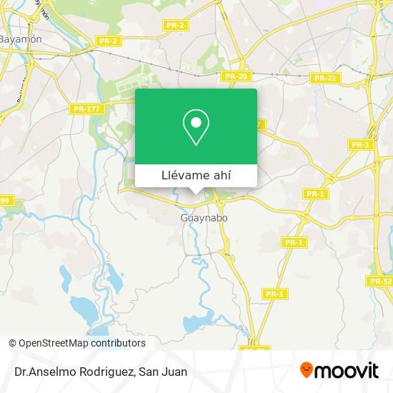 Mapa de Dr.Anselmo Rodriguez