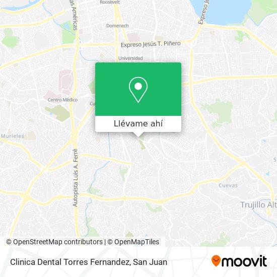 Mapa de Clinica Dental Torres Fernandez