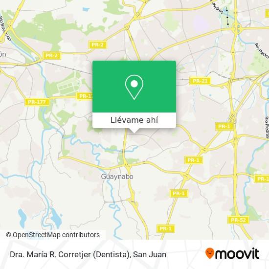 Mapa de Dra. María R. Corretjer (Dentista)