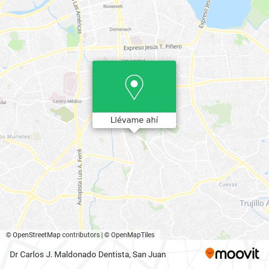 Mapa de Dr Carlos J. Maldonado Dentista