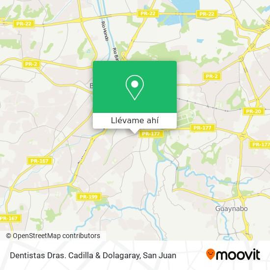 Mapa de Dentistas Dras. Cadilla & Dolagaray