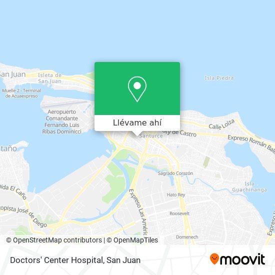 Mapa de Doctors' Center Hospital