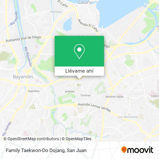 Mapa de Family Taekwon-Do Dojang
