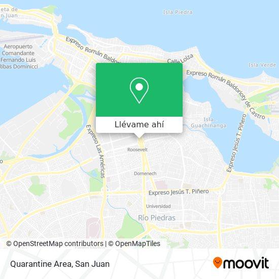 Mapa de Quarantine Area