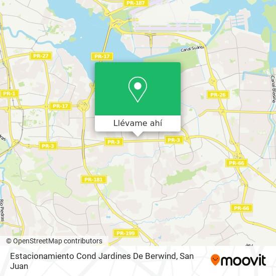Mapa de Estacionamiento Cond Jardines De Berwind