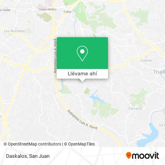 Mapa de Daskalos