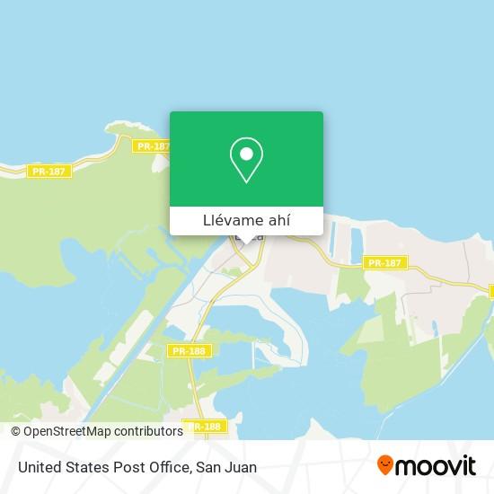 Mapa de United States Post Office