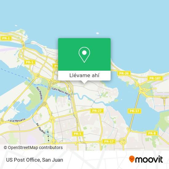 Mapa de US Post Office
