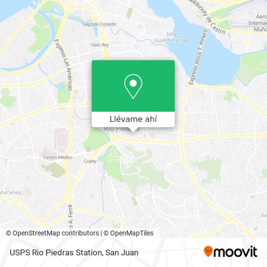 Mapa de USPS Rio Piedras Station