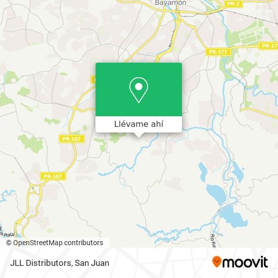 Mapa de JLL Distributors