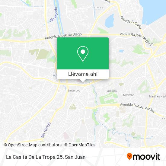 Mapa de La Casita De La Tropa 25