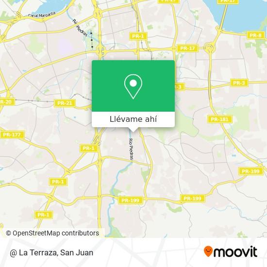 Mapa de @ La Terraza